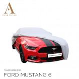 Ford Mustang 6 2014-present Indoor Autohoes - Zilvergrijs