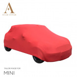 MINI Cabrio R52 R57 F57 Indoor Autohoes - Maatwerk - Rood
