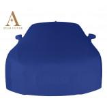 Ford Mustang 6 Cabrio Indoor Autohoes - Spiegelzakken - Blauw