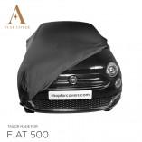 Fiat 500 500C Autohoes - Maatwerk - Zwart