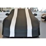 Porsche 911R 991 Autohoes - Maatwerk - Spiegelzakken - Zwart/Zilver