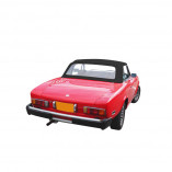 Fiat 124 Spider CS1 1400/1600/1800 1966-1979 - Stoffen cabriokap Sonnenland A5.3M