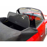 Porsche 356 Speedster Windscherm Enkel Frame - Zwart 1950-1965