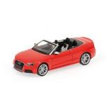 Audi RS5 Cabriolet Rood 1:43 Minichamps