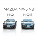 Mazda MX-5 NB RVS grille Voorbumper - BLACK EDITION 1998-2002