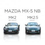 Mazda MX-5 NB RVS gril voor de voorbumper 1998-2002