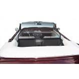 Ford Mustang 1 Serie 1,2,3 Aluminium Windscherm - Zwart 1964-1970