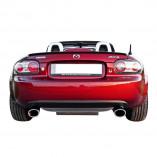 Mazda MX-5 NC RVS gril voor de achterbumper 2005-2009