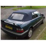 Rover 214/216 PVC cabriokap - alleen voorste deel 1992-1998