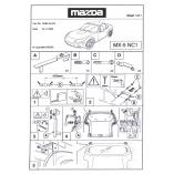 Mazda MX-5 NC Hardtop Ophangbeugels 2005-2014