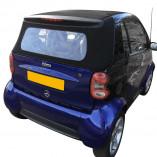 ORIGINELE achterruitsectie Smart ForTwo Cabrio A450 2000-2004
