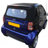 Achterruitsectie Smart ForTwo Cabrio A 450 2000-2004