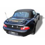 BMW Z3 Roadster bagagerek | LIMITED WOOD EDITION | 1995-1999 | Zwart