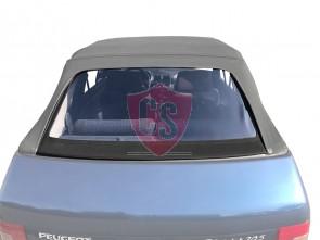 Peugeot 205 Cabrio PVC Achterruit met Sonnenland omranding