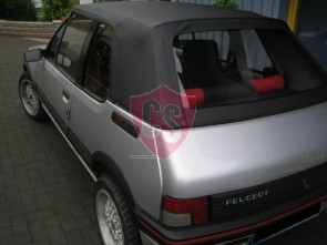 Peugeot 205 PVC cabriokap - PVC achterruit 1984-1992