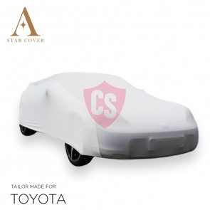 Toyota MR2 Spyder Indoor Autohoes - Maatwerk - Wit