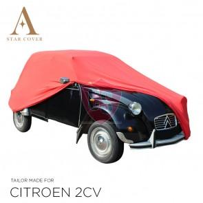 Citroën 2CV Indoor Autohoes - Maatwerk - Rood