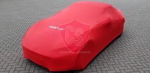 Mazda MX-5 RF Autohoes met logo - Maatwerk - Rood