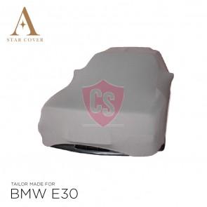 BMW 3 Serie Cabrio E30 Indoor Autohoes - Maatwerk - Zilvergrijs