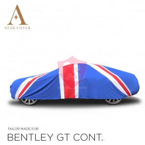 Bentley Continental Union Jack Indoor Autohoes