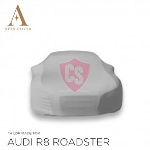 Audi R8 Coupe & Spyder Autohoes - Maatwerk - Zilvergrijs