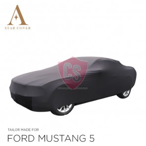 Ford Mustang 5 2005-2014  Indoor Autohoes - Zwart