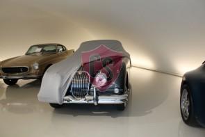 Jaguar XK150 Indoor Autohoes - Maatwerk - Zilvergrijs