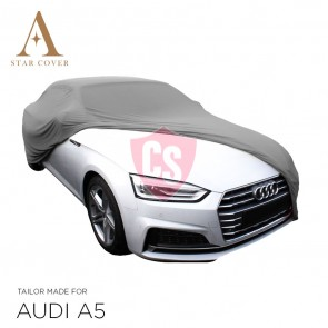 Audi A5 Cabrio Indoor Autohoes - Maatwerk - Zilvergrijs
