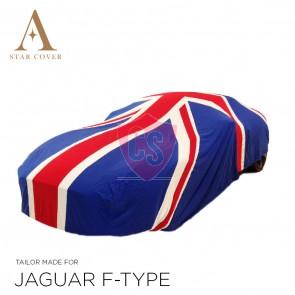 Union Jack autohoes voertuiglengte 420 - 470 cm