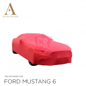 Ford Mustang 6 2014-2019  Indoor Autohoes - Rood