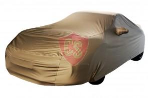 Porsche 911 997 Outdoor Autohoes - Star Cover - Khaki - Spiegelzakken
