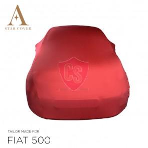 Fiat 500 500C Autohoes - Maatwerk - Rood