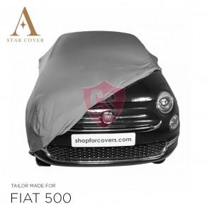 Fiat 500 500C Autohoes - Maatwerk - Zilvergrijs