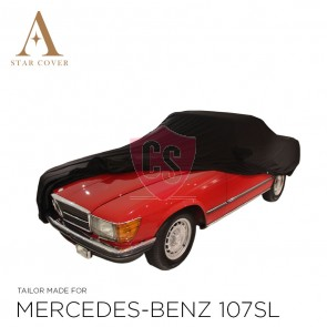 Mercedes-Benz R107 SL Outdoor Autohoes - Star Cover - Spiegelzakken