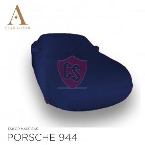 Porsche 944 & 968 Blauwe indoor autohoes met spiegelzakken