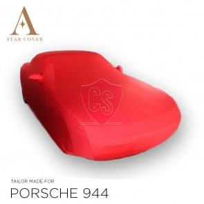 Porsche 944 & 968 Autohoes - Maatwerk - Spiegelzakken - Rood