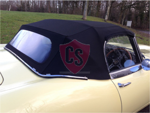 Jaguar E-Type S2 Sonnenland A5 cabriokap 1969-1971