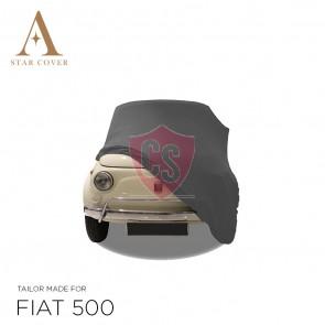 Fiat 500 Autohoes - Maatwerk - Zilvergrijs