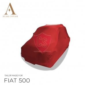 Fiat 500 Autohoes - Maatwerk - Rood