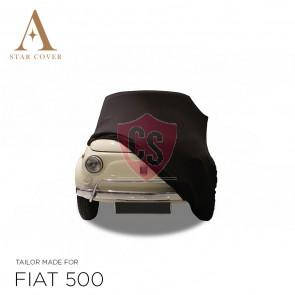 Fiat 500 Autohoes - Maatwerk - Zwart