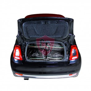 Fiat 500 (+ Cabrio) 2007-heden 3d Car-Bags reistassenset