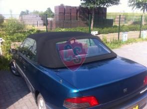 Peugeot 306 Cabrio PVC Achterruit