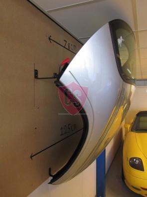 BMW Z4 Roadster Hardtop Wandbeugels