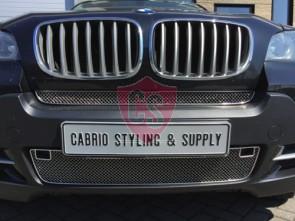 BMW X5 E70 RVS gril (2-delig)