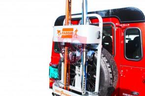 Ski Drager Reservewiel Terreinauto's 4x4 | FABBRI GRINGO SKI