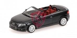 Audi A3 Cabriolet Grijs Metallic 1:43 Minichamps