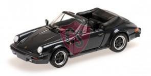 Porsche 911 - 964 Donker Grijs Metallic 1:43 Minichamps