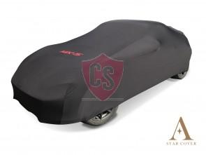 Mazda MX-5 ND & RF Autohoes met logo - Maatwerk - Zwart