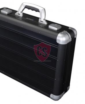Aluminium bagagerek koffer Toscane in mat zwart
