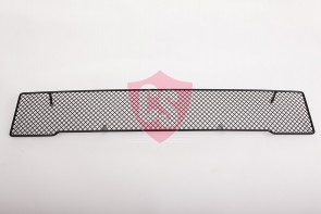 Fiat 500 RVS grille - BLACK EDITION 1-delig 2007-2015